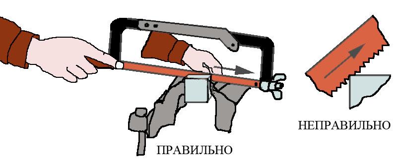 Как сделать лучковую пилу из трубы